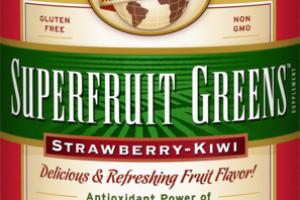 STRAWBERRY-KIWI POWDER FORMULA SUPPLEMENT