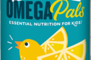 OMEGA PALS ESSENTIAL NUTRITION FOR KIDS, DIETARY SUPPLEMENT CHIRPIN' SLURPIN' LEMONADE
