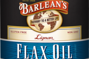 LIGNAN FLAX OIL SUPPLEMENT SOFTGELS