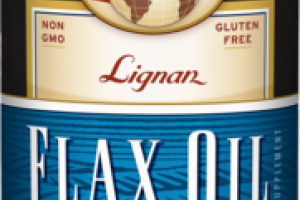 ORGANIC LIGNAN FLAX OIL SUPPLEMENT