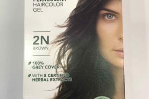 PERMANENT HAIRCOLOR GEL, 2N BROWN