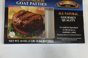Chevon Premium Goat Patties