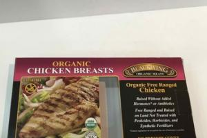 ORGANIC FREE RANGED CHICKEN BREASTS