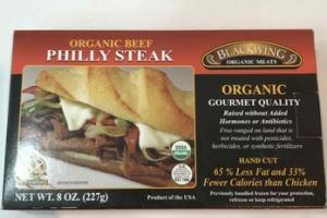 ORGANIC BEEF PHILLY STEAK