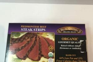 PIEDMONTESE BEEF ORGANIC MEATS STEAK STRIPS