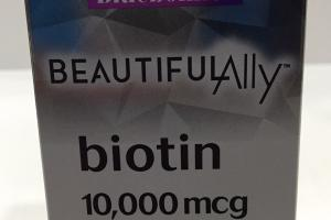 Biotin 10,000 Mcg Dietary Supplement