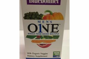 WHOLE FOOD-BASED MULTIPLE WITH ORGANIC VEGGIES DIETARY SUPPLEMENT VEGETABLE CAPSULES