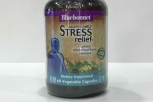 STRESS RELIEF  CALMING WHOLE FOOD-BASED FORMULA DIETARY SUPPLEMENT VEGETABLE CAPSULES