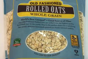 Whole Grain Old Fashioned Rolled Oats