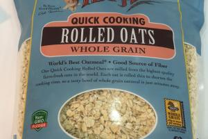 Rolled Oats Whole Grain