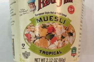 Gluten Free Tropical Muesli Cup