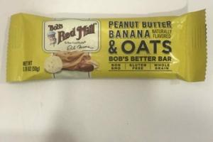 PEANUT BUTTER BANANA & OATS BOB'S BETTER BAR