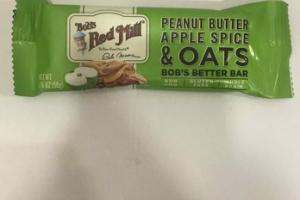 PEANUT BUTTER APPLE SPICE & OATS BOB'S BETTER BAR