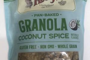 COCONUT SPICE GRANOLA