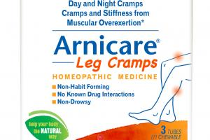 Leg Cramps Homeopathic Medicine