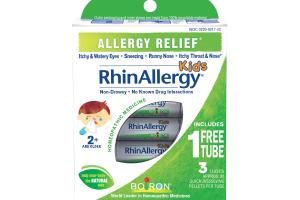 KIDS, ALLERGY RELIEF HOMEOPATHIC MEDICINE QUICK-DISSOLVING PELLETS PER TUBE