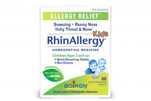 ALLERGY RELIEF KIDS HOMEOPATHIC MEDICINE QUICK-DISSOLVING TABLETS