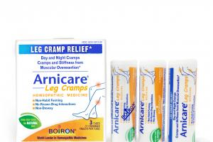 LEG CRAMPS HOMEOPATHIC MEDICINE CHEWABLE TABLETS