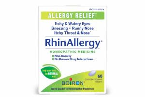 ALLERGY RELIEF HOMEOPATHIC MEDICINE QUICK-DISSOLVING TABLETS