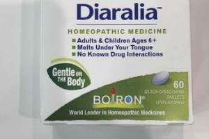 DIARRHEA RELIEF HOMEOPATHIC MEDICINE QUICK-DISSOLVING TABLETS