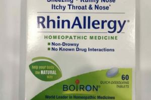 RHIN ALLERGY RELIEF HOMEOPATHIC MEDICINES QUICK-DISSOLVING TABLETS