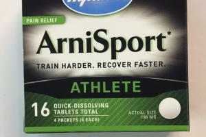 Arnisport Athlete Pain Relief Tablets