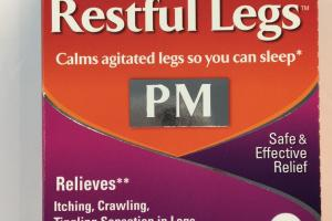 Restful Legs Pm Safe & Effective Relief Quick-dissolving Tablets