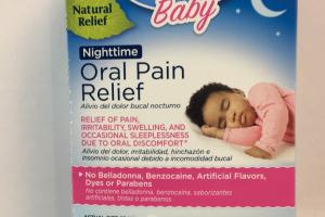 Baby Oral Pain Relief Quick-dissolving Tablets