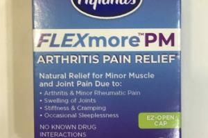 FLEXMORE PM ARTHRITIS PAIN RELIEF QUICK DISSOLVING TABLETS