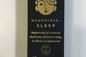 HOMEOPATHY MENOPAUSE + SLEEP 68 SUBLINGUAL TABLETS