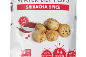 Sriracha Spice Water Lily Pops
