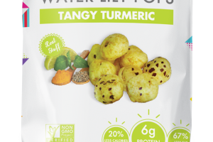 Tangy Turmeric Water Lily Pops