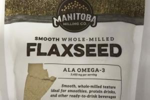 SMOOTH WHOLE-MILLED FLAXSEED