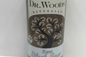 NATURALLY RAW BLACK SOAP, UNSCENTED