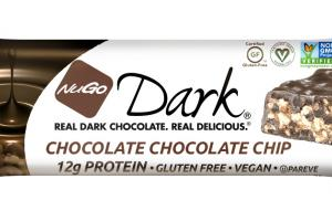 DARK CHOCOLATE CHOCOLATE CHIP PROTEIN BAR