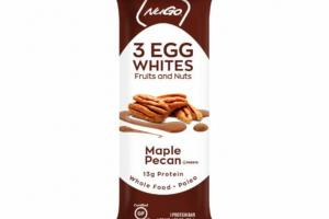 MAPLE PECAN EGG WHITES FRUITS AND NUTS PROTEIN BAR