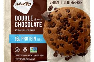 DOUBLE CHOCOLATE DELICIOUSLY BAKED PROTEIN COOKIE