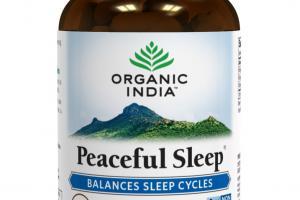 PEACEFUL SLEEP HERBAL SUPPLEMENT VEG CAPS