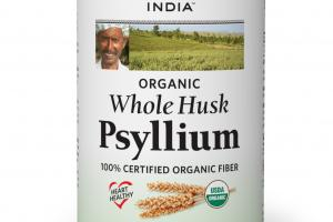 WHOLE HUSK 100% ORGANIC FIBER PSYLLIUM DIETARY SUPPLEMENT