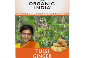 TULASI GINGER CAFFEINE FREE HERBAL SUPPLEMENT