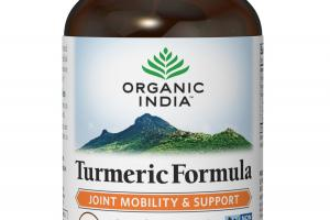 JOINT MOBILITY & SUPPORT TURMERIC FORMULA HERBAL SUPPLEMENT VEG CAPS