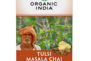 TULSI MASALA CHAI STRESS RELIEVING & ENLIVENING HERBAL SUPPLEMENT