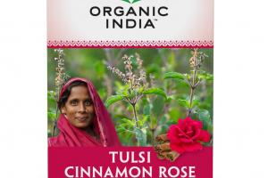 TULSI CINNAMON ROSE HERBAL SUPPLEMENT