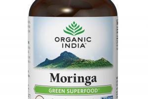 MORINGA GREEN SUPERFOOD HERBAL SUPPLEMENT VEG CAPS