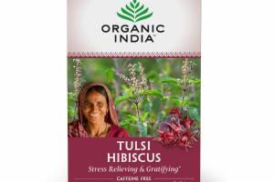 TULSI HIBISCUS STRESS RELIEVING & GRATIFYING HERBAL SUPPLEMENT