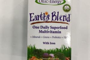 One Daily Superfood Multivitamin With Iron Dietray Suppplement