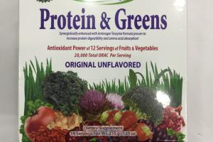 Protein & Greens Original Unflavored Dietary Supplement