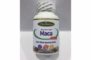 PERUVIAN GOLD MACA ACTIVE WHOLE SPECTRUM EXTRACT VEGETARIAN CAPSULE DIETARY SUPPLEMENT