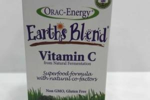 ORAC ENERGY EARTH'S BLEND VITAMIN C FRO NATURAL FERMENTATION DIETARY SUPPLEMENT CAPSULES