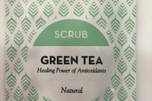 NATURAL SCRUB, GREEN TEA